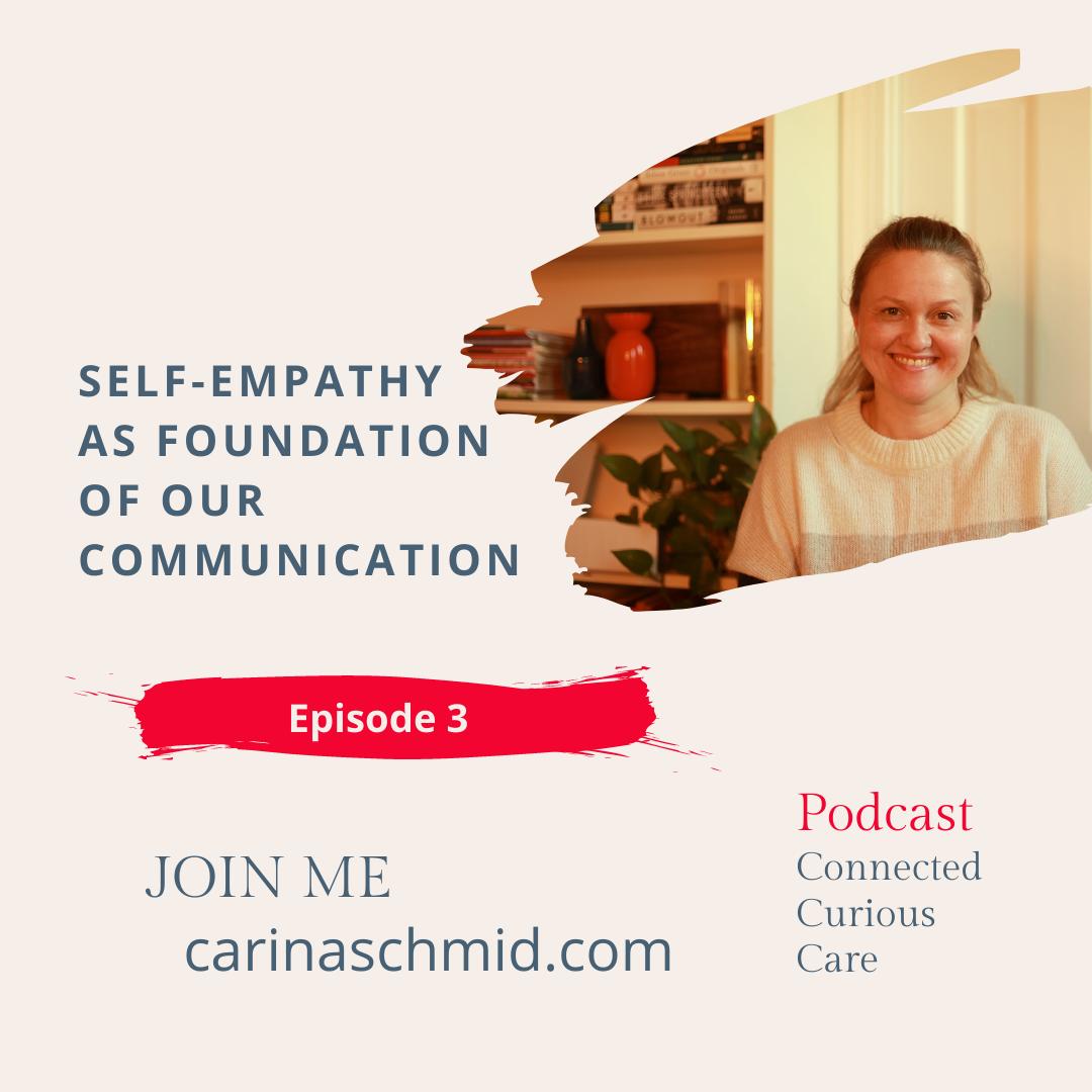 Self-Empathy as basis for communication