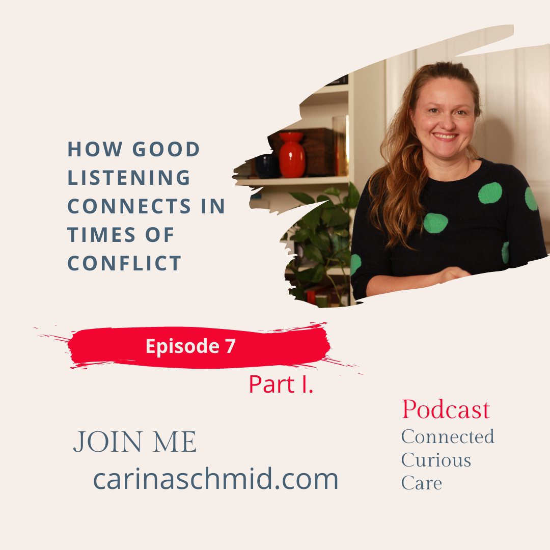 How good listening connects in times of conflict