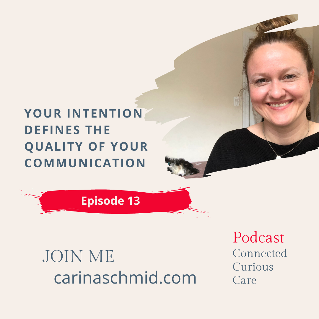 Connected Curious Care Podcast Episode 13 English